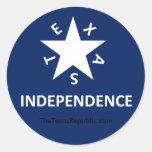 Pegatina de la independencia de Tejas
