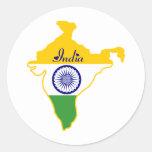 Pegatina de la India