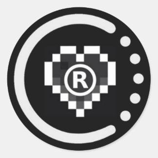 pegatina de la insignia raoo401