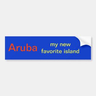 Pegatina de la isla de Aruba Pegatina Para Auto