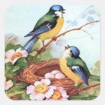 Pegatina de la jerarquía de los Bluebirds de la pr