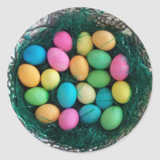 Pegatina de la jerarquía del huevo de Pascua