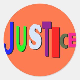 Pegatina de la justicia