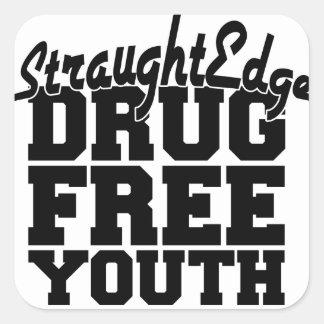 Pegatina de la juventud de Drugfree
