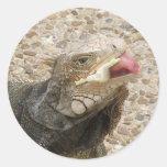 Pegatina de la lengua del lagarto