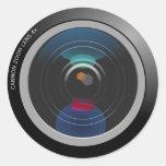 Pegatina de la lente de cámara