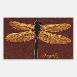 Pegatina de la libélula