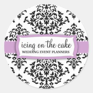 Pegatina de la lila de la guinda del pastel 311
