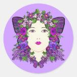 Pegatina de la lila de Persephone