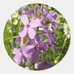 Pegatina de la lila del verano