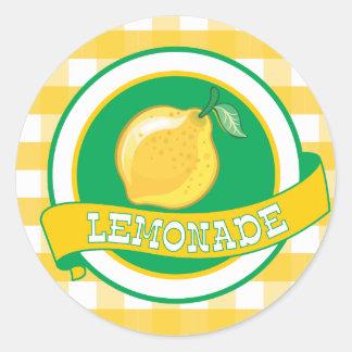 Pegatina de la limonada