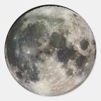 Pegatina de la luna