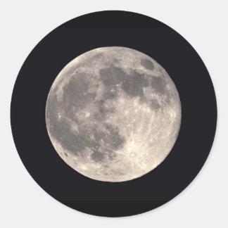 Pegatina de la Luna Llena