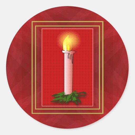 Pegatina de la luz de navidad