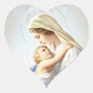 Pegatina de la madre y del niño