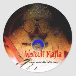 Pegatina de la mafia del Wetsuit