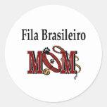 Pegatina de la mamá de Fila Brasileiro