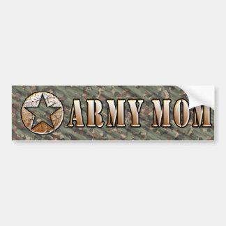 Pegatina de la mamá del ejército pegatina para auto