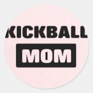 pegatina de la mamá del kickball