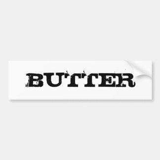 Pegatina de la mantequilla pegatina para auto