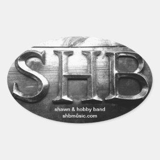 Pegatina de la marca de SHB