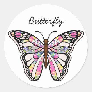 Pegatina de la mariposa