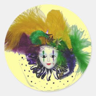 Pegatina de la máscara 2 del carnaval