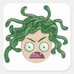Pegatina de la medusa