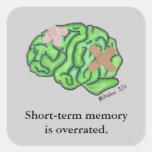 "Pegatina de la ""memoria a corto plazo"""