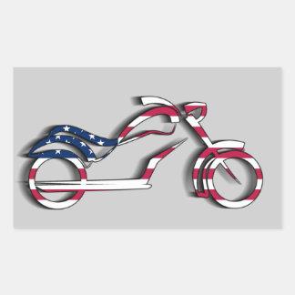Pegatina de la motocicleta de la bandera de los