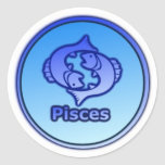 Pegatina de la muestra de la estrella de Piscis