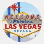 Pegatina de la muestra de Las Vegas