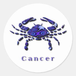 Pegatina de la muestra del cáncer