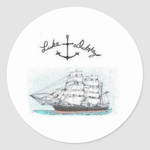 Pegatina de la nave