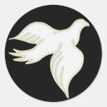 Pegatina de la paloma