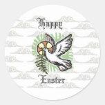 Pegatina de la paloma de Pascua