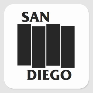Pegatina de la parodia de San Diego/de la bandera