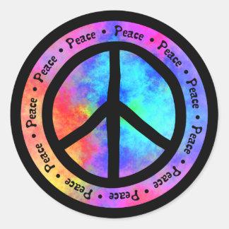 Pegatina de la paz