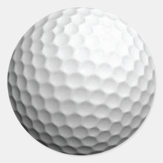 Pegatina de la pelota de golf