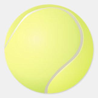 Pegatina de la pelota de tenis