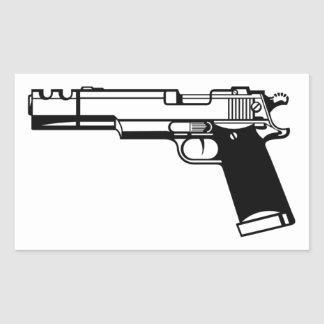 Pegatina de la pistola