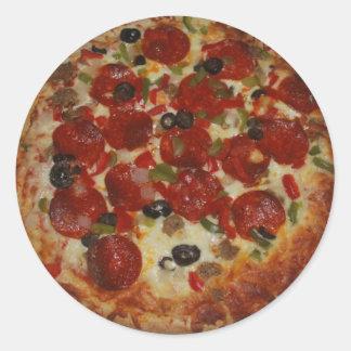 Pegatina de la pizza
