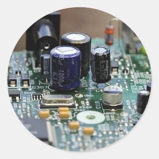 Pegatina de la placa de circuito