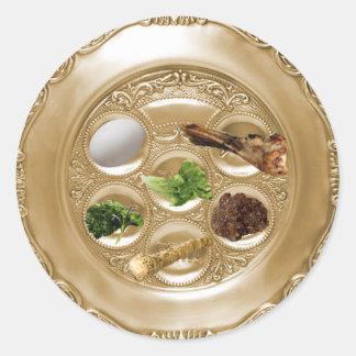 Pegatina de la placa de Seder