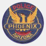 Pegatina de la policía de Phoenix