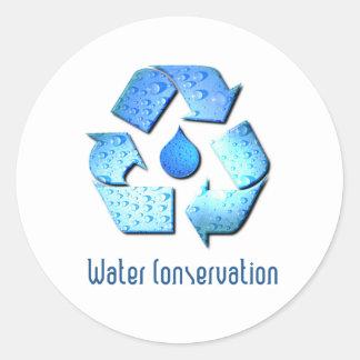 Pegatina de la protección de agua