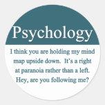 Pegatina de la psicología