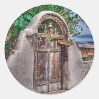 Pegatina de la puerta de Josefina