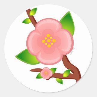 Pegatina de la puntilla de Sakura