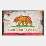 Pegatina de la república de California